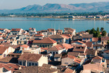 Roofs of picturesque town of Naflio, Greece - 229037641