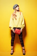 colorful fashionable look