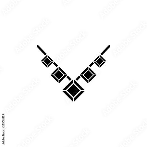 cb3a885da Necklace icon. Element of clothes and accessories. Premium quality graphic  design icon. Signs