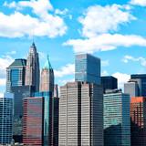 Manhattan skyscrapers, New York City