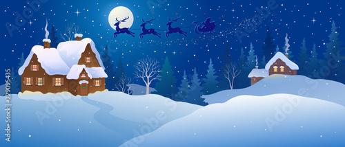 Christmas night wonderland © Merggy