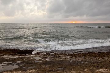 Reef Sunset, Kauai, Hawaii
