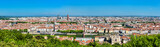 Panorama of Lyon from the Fourviere hill. France - 229140660