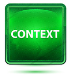 Context Neon Light Green Square Button - 229177015