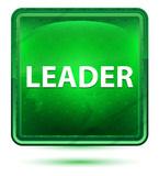 Leader Neon Light Green Square Button - 229180236