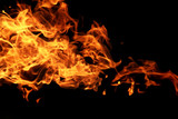 real fire texture - 229184654