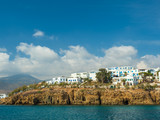 harbor piso livadi paros island with cyclades architecture resort town - 229193244