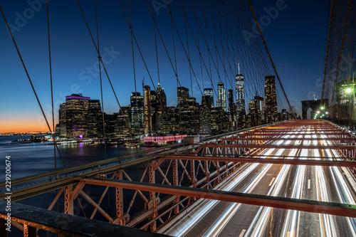 Foto Murales Brooklyn Bridge New York City