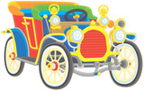 Old toy vintage car
