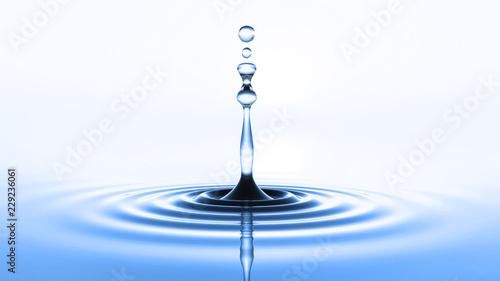 blue water drop - 229236061