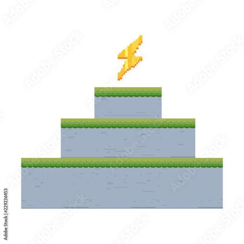 pixel video game - 229236453