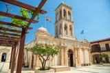 Orthodox church monastery in Crete, Greece