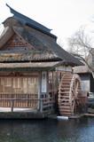 Oshino Hakkai village , tourist destination point in Japan. - 229292075