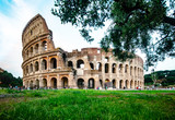 The Colosseum  is an oval amphitheatre in the centre of the city of Rome, Italy