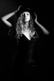 Portrait of beautiful woman - 229313630