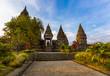 Leinwanddruck Bild - Prambanan temple near Yogyakarta on Java island - Indonesia