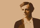 Portrait de Jack London, célèbre écrivain et romancier américain du début du 20ème siècle © pict rider