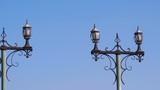 Street light. Lantern against the sky. - 229337605