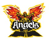 Motorcycle labels for motorcycle club Angels. - 229339057