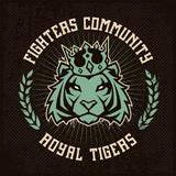 Emblem Design with Tiger in Crown