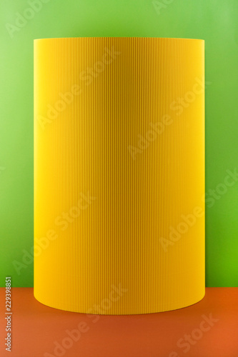 Abstract background of sheets of colored paper, for decoration, for text design, for template - 229398851