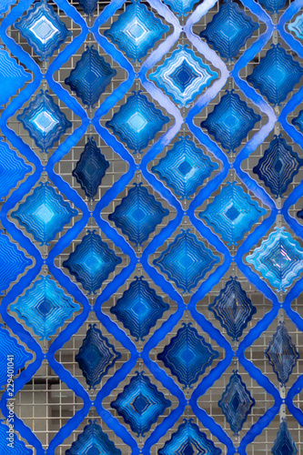 blue abstract - 229401041