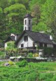 das traditionelle Dorf Foroglio im Val Bavona nahe Locarno im Kanton Tessin,Schweiz
