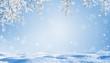 Leinwanddruck Bild - unterm verschneiten baum