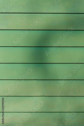 Strukturen und Muster, grüne Wand - 229409261