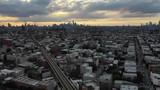 Aerial of Bushwick, Brooklyn - 229412454