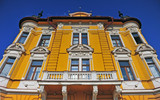 Facade of historical building in centre of Banska Bystrica town - 229418637