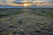 Sunset at Grasslands National Park in Saskatchewan Canada