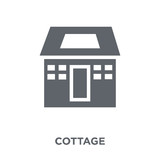 Cottage icon from  collection. - 229491832