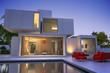 Leinwandbild Motiv Modern  original house