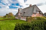 altes Friesenhaus mit Reetdach auf Amrum - 229578026