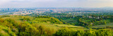 Panoramic view from Kahlenberg in Vienna, Austria