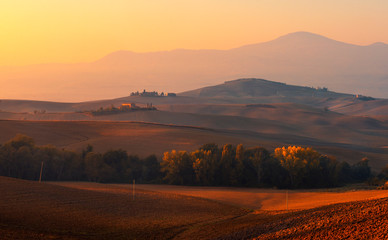 Sunset in Toscana © Mikhail