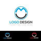 MC Letter Logo design vector illustration - 229637607