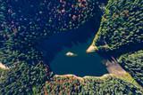 Synevir lake autumn colors - 229688820