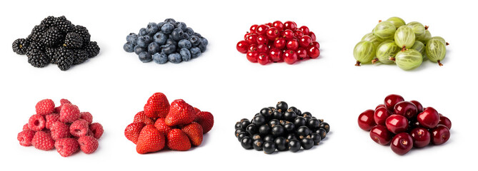 Fresh berries set © Gresei