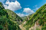 Carpathian Mountains View On Transfagarasan Road In Romania