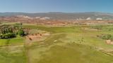 Aerial view of open countryside in Torrey, Utah - 229756426