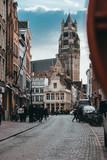 A beautiful quiet evening in Bruges Belgium