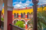Colonial historical Consistorial house or 'La Periquera', Holguin, Cuba