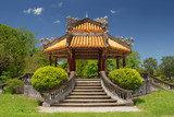 Vietnam, Hue, Dien Can Thanh, Imperial City, The Purple Forbidden City - Hue, Vietnam. - 229813086