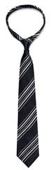 black striped necktie on a white background © BillionPhotos.com