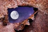 Space Moon concept