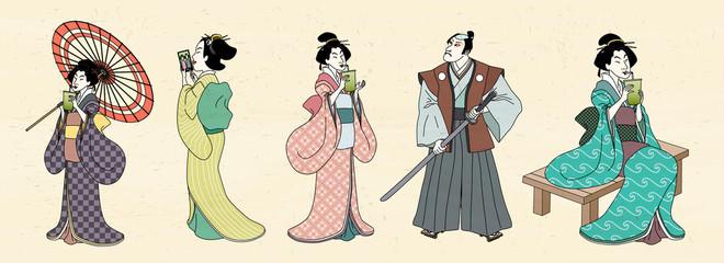 Japanese characters design © JoyImage