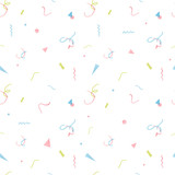 Watercolor tropical palm leaf pattern - 229875688