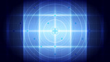 Abstract blue light and shade creative technology background. Vector illustration. - 229890232